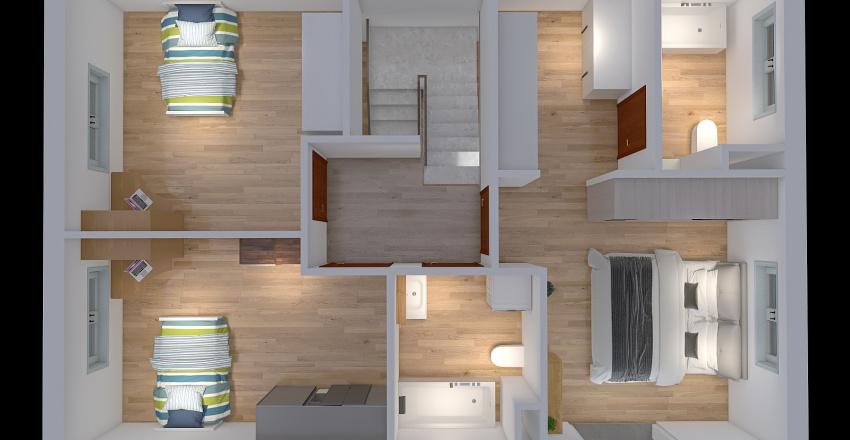 Nárcisz lakosztályos Interior Design Render