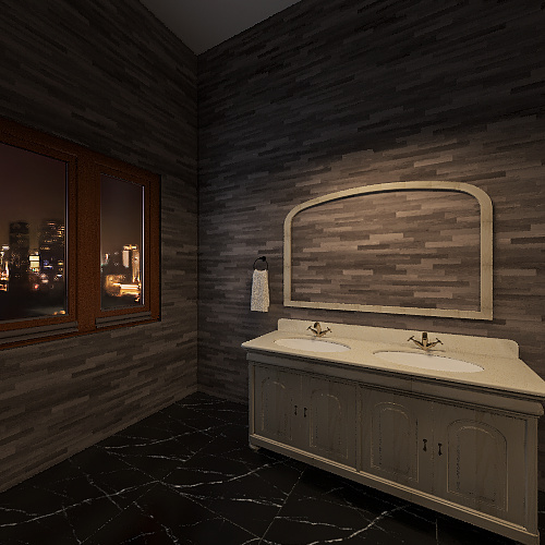 Sisters Apartment Interior Design Render