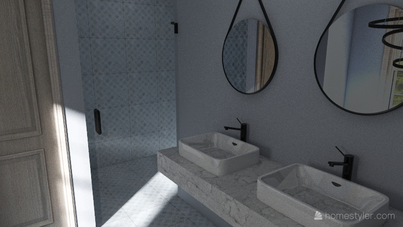 1824 House Interior Design Render