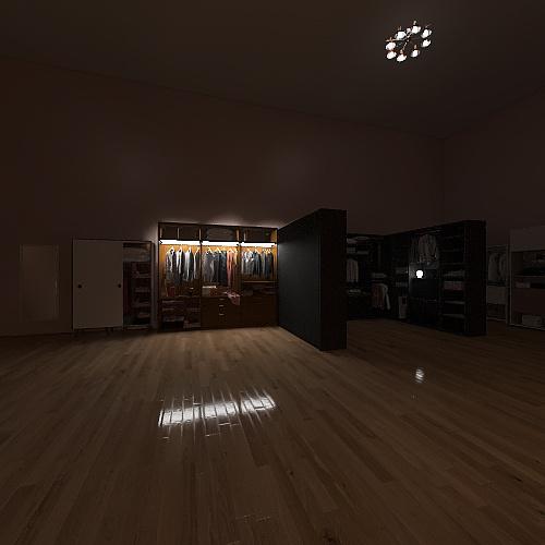 Mackenzie's Bedroom Interior Design Render
