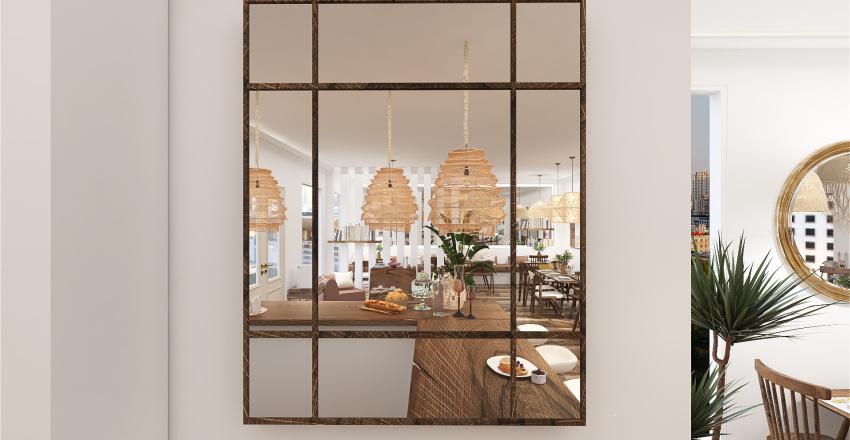 Bar/Restaurante OPCIÓN 1 Interior Design Render