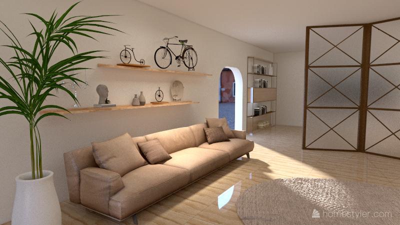 Projeto Sala 2 Interior Design Render