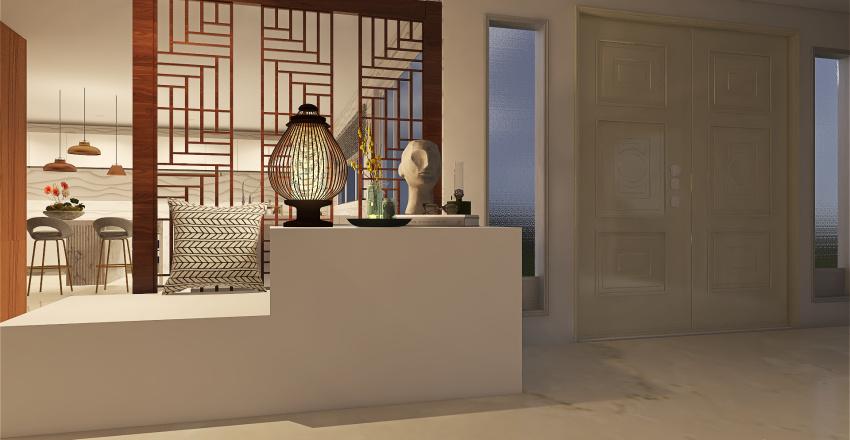 Beautiful Home Interior Design Render