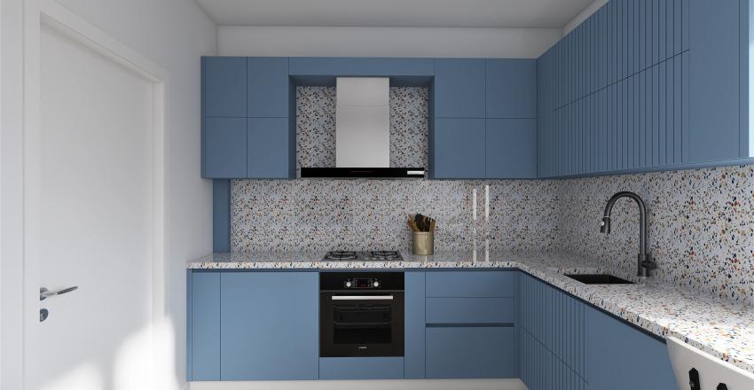 Kitchen | Terrazzo Mood Interior Design Render