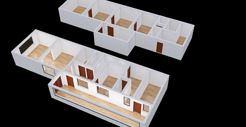 Návrh 1 Interior Design Render