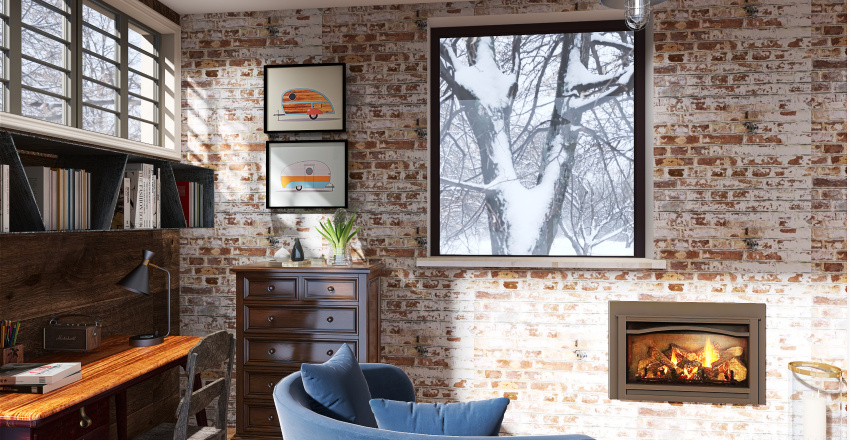Garage conversion 2 Interior Design Render