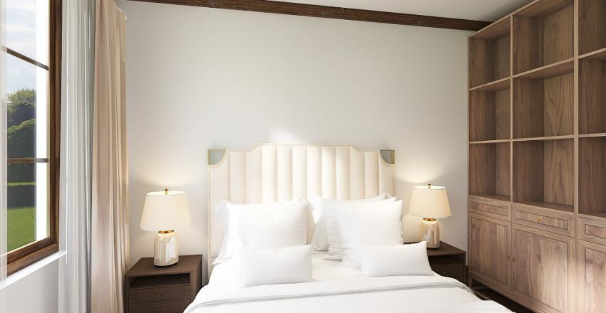 queen anne home Interior Design Render
