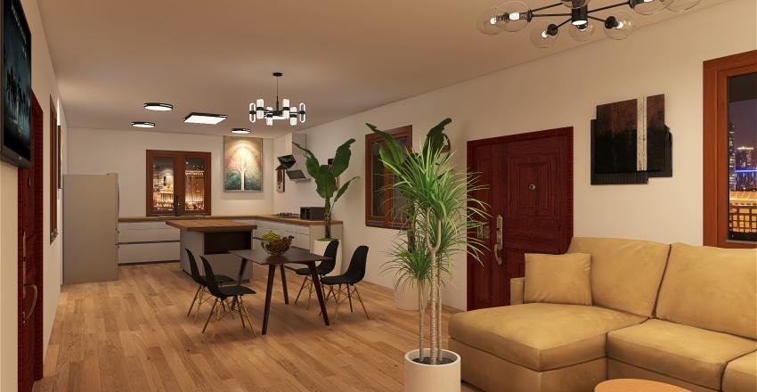CASA-MIRNA-MEOÑO Interior Design Render