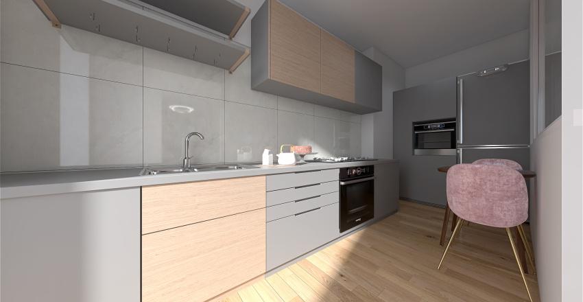Appartamento contemporaneo Interior Design Render