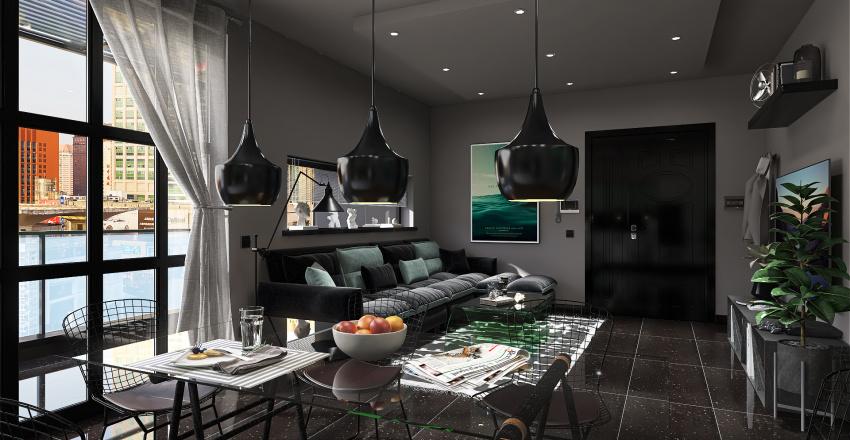 Alexander Apartment Interior Design Render