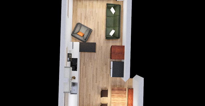 Laundry room Interior Design Render