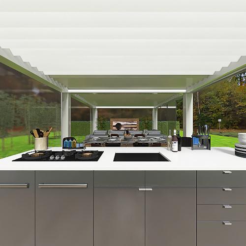 GAZEBO Interior Design Render