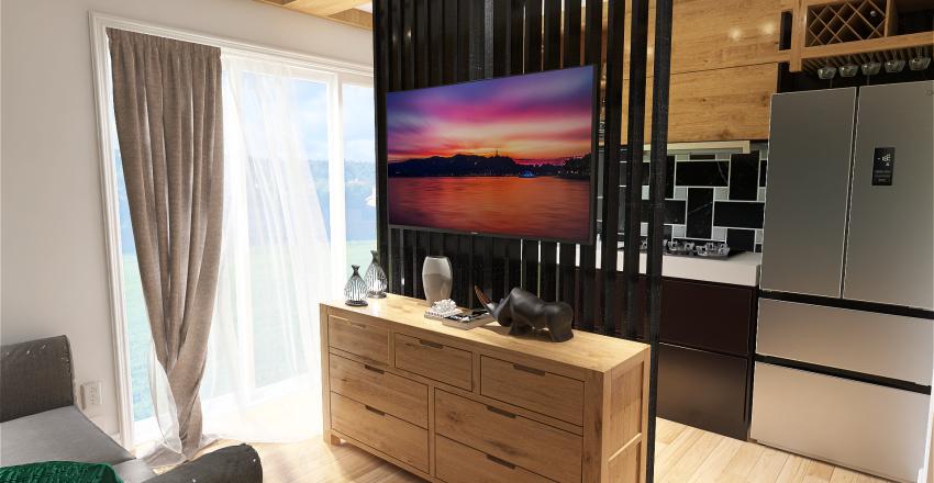 PENSJONAT POKOJ NR 1 I 2 SARBINOWO Interior Design Render
