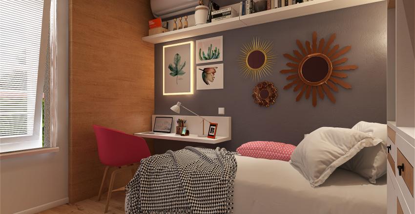 V2. Loft Jovem Brooklyn Interior Design Render