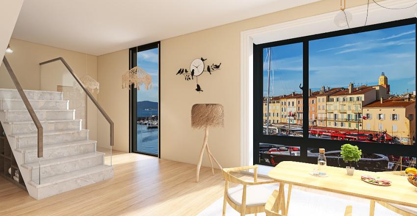 Duplex 4 Interior Design Render
