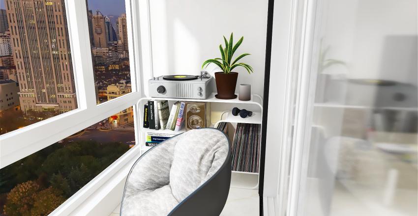 Modern Upper East Side Apartment Interior Design Render