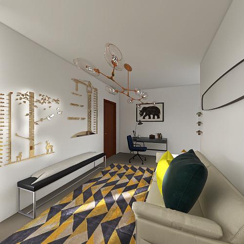Ethan's Apartment Interior Design Render