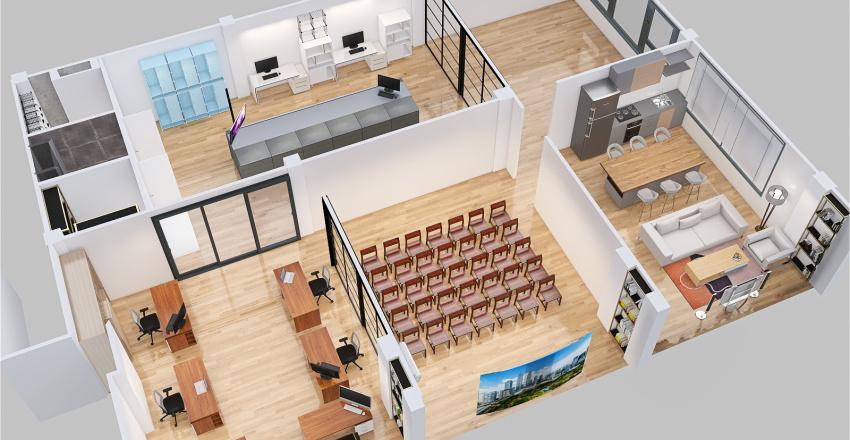 Smart.Lab Interior Design Render