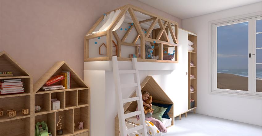 Quarto Montessoriano Infantil 6 Interior Design Render