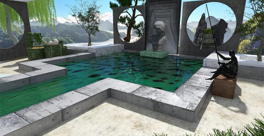 jardin imaginaire Interior Design Render