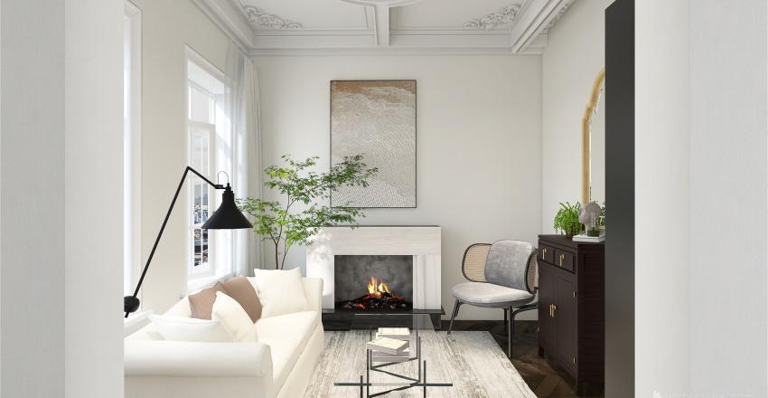 Apartment in European City Interior Design Render