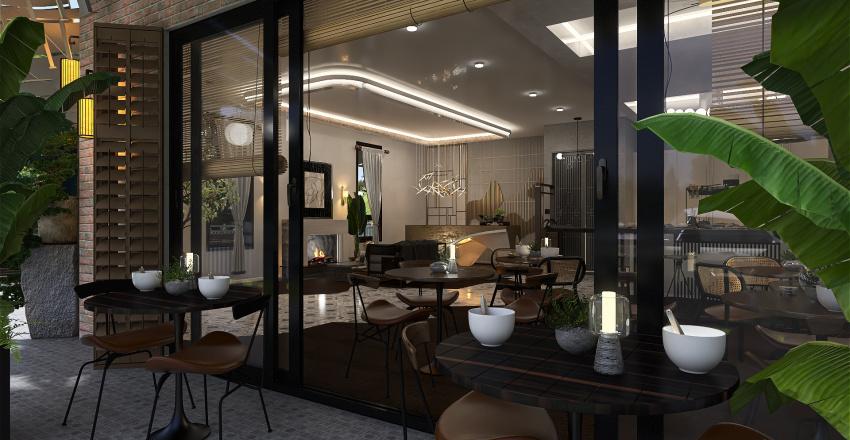 STAY IN COMFORT HOTEL Interior Design Render