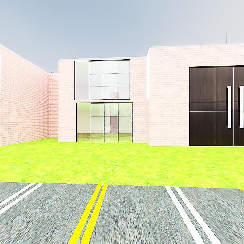 full apartment complex Interior Design Render
