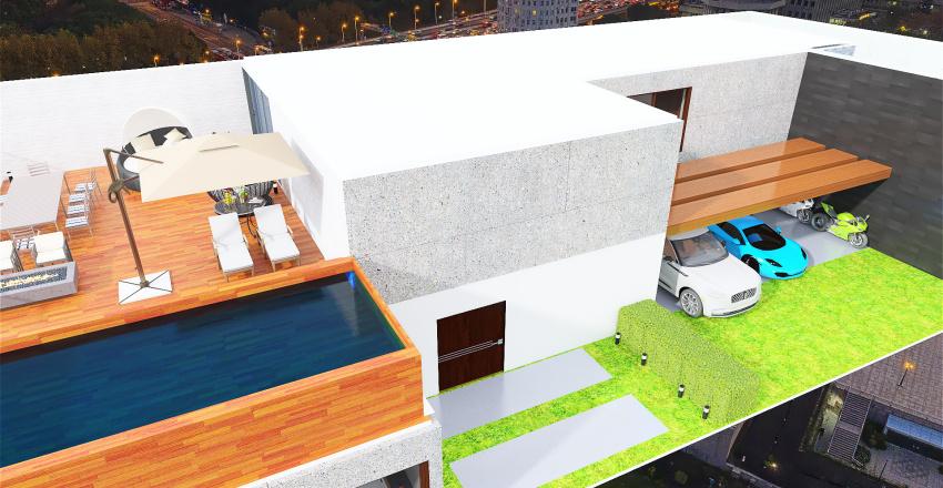 casa moderna 3 Interior Design Render