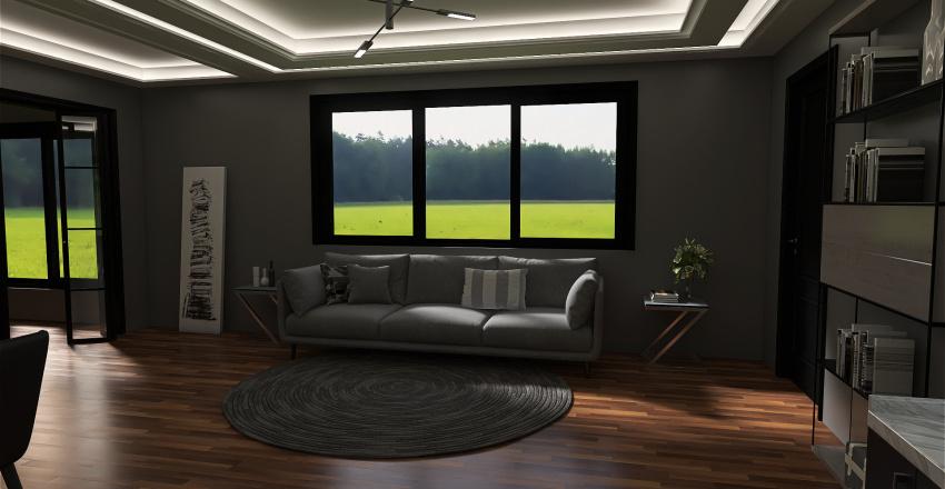 1 habitacion Interior Design Render