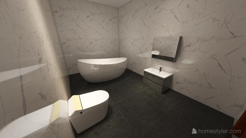 návrh bytu Interior Design Render