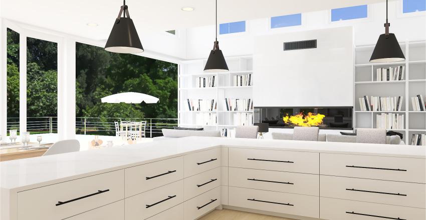 Big Modern House! Interior Design Render