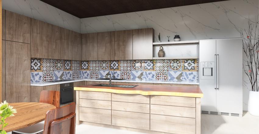 Apartamento Interior Design Render