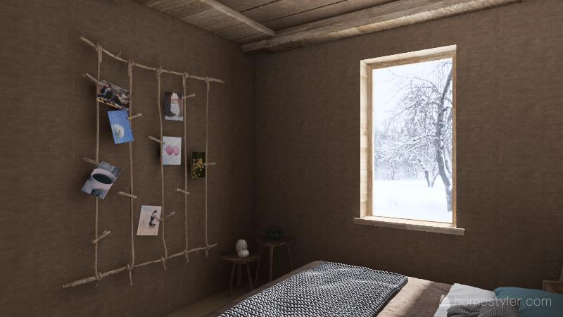 cottagecore cottage Interior Design Render