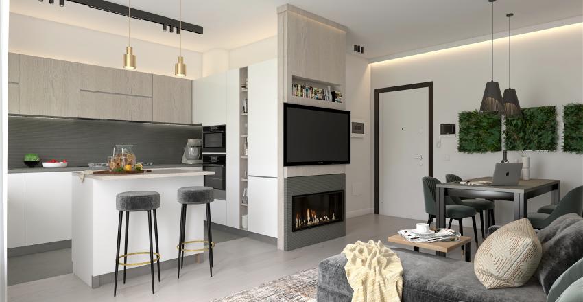 living Laura Interior Design Render