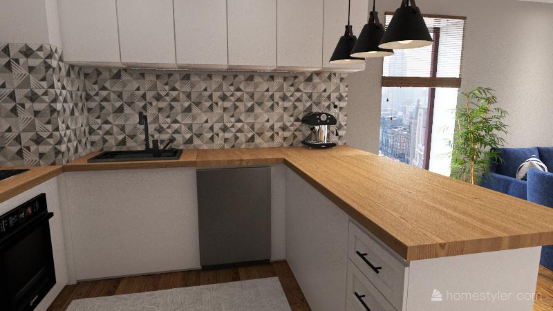 mieszkanie_Górki19 Interior Design Render