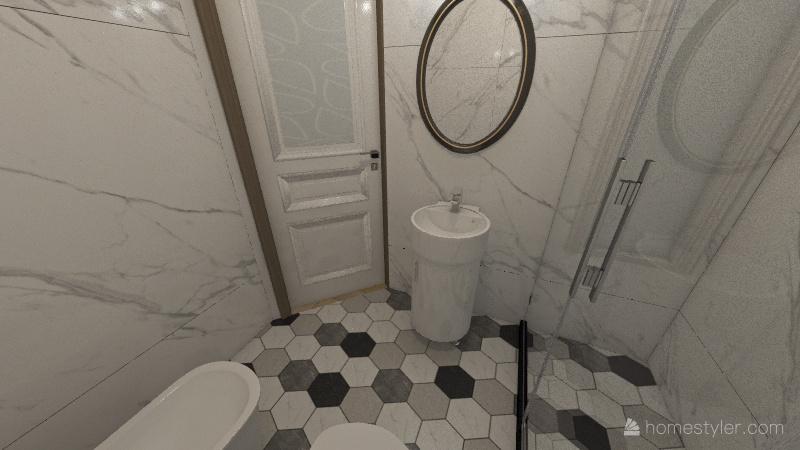 Via XX Settembre Interior Design Render