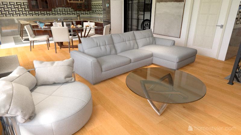 Unifamiliar Interior Design Render