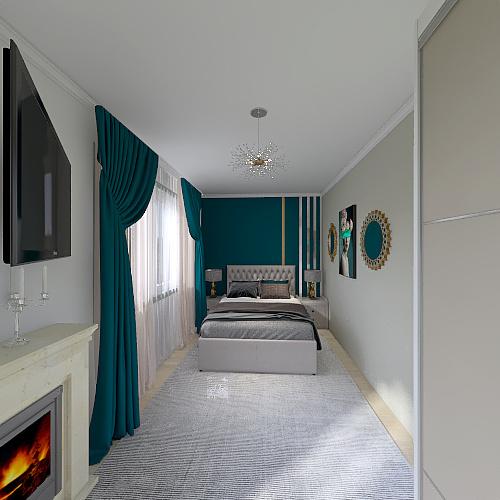 Dormitor Matrimonial Kary Interior Design Render