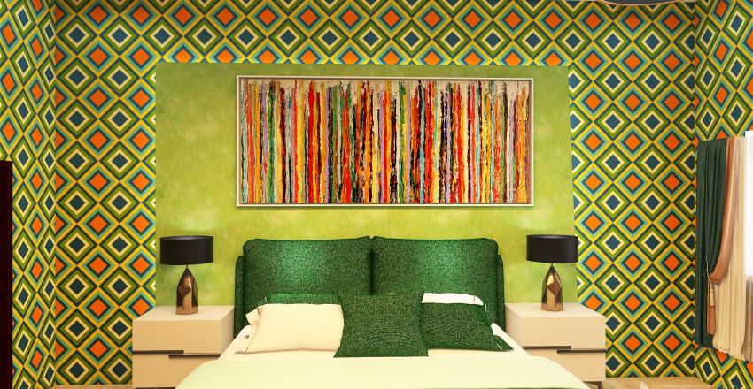 Duplex house Interior Design Render