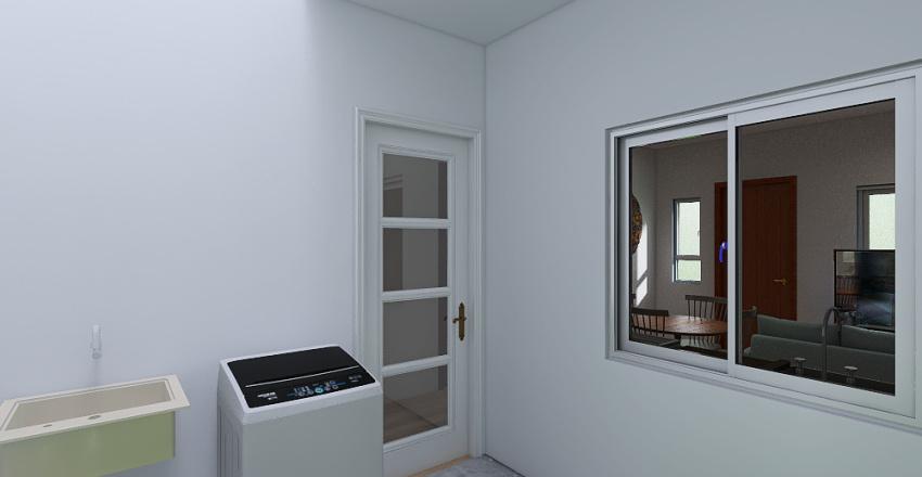 Conjunto habitacional (12x25) Interior Design Render