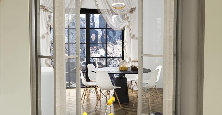 Salonski Stan Interior Design Render