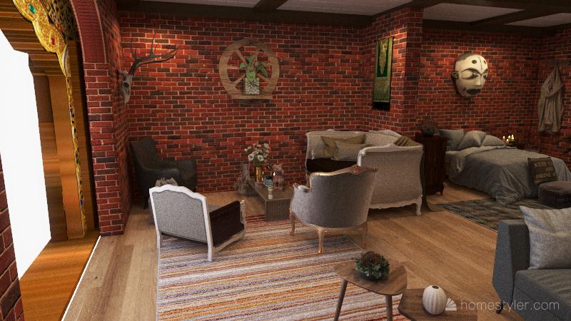Cottagecore shop Interior Design Render