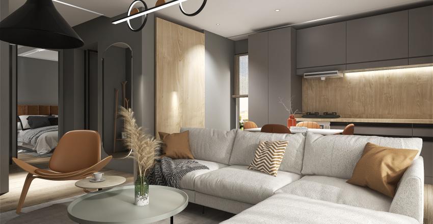 FlatBrownie Interior Design Render