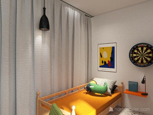 camera nuova Interior Design Render