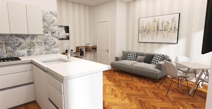 Pisa_Colucci_via Diocleziano_SOL 2 Interior Design Render