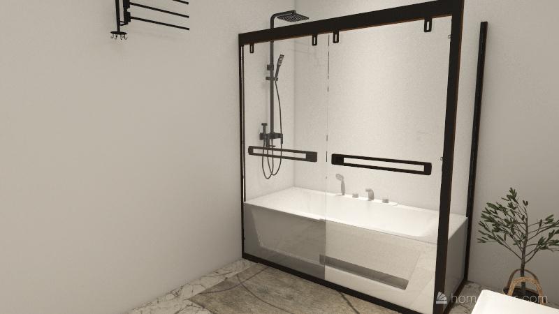 Deluxe Unit 2 Bedroom, 2 Bathroom Interior Design Render
