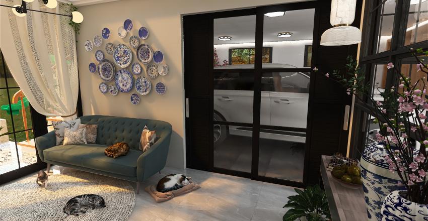 A peaceful heaven Interior Design Render