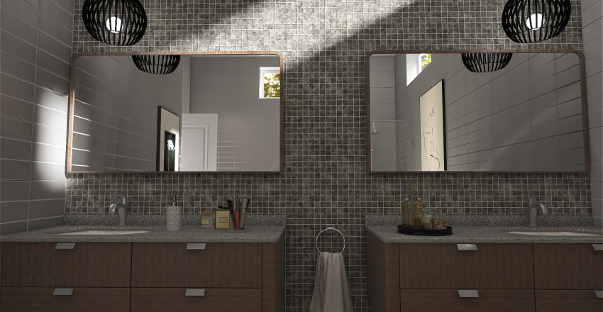 Play time in the suburbs Interior Design Render