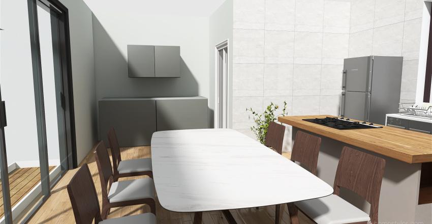 Casa Container Interior Design Render