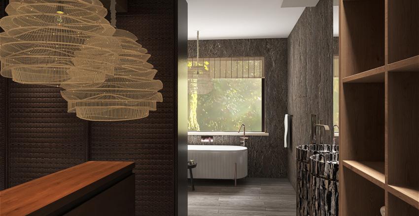 Multi-Generational Living Interior Design Render